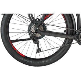 HAIBIKE Sduro Trekking S 9.0 XT I500Wh 11-speed Diamond black/titan/red matte